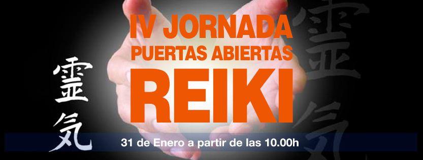 IV jornada de puertas abiertas de Reiki en Apunto Let